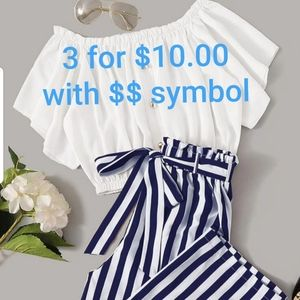 Dresses & Skirts - Bundle anything with a $ symbol 3 for $10.00